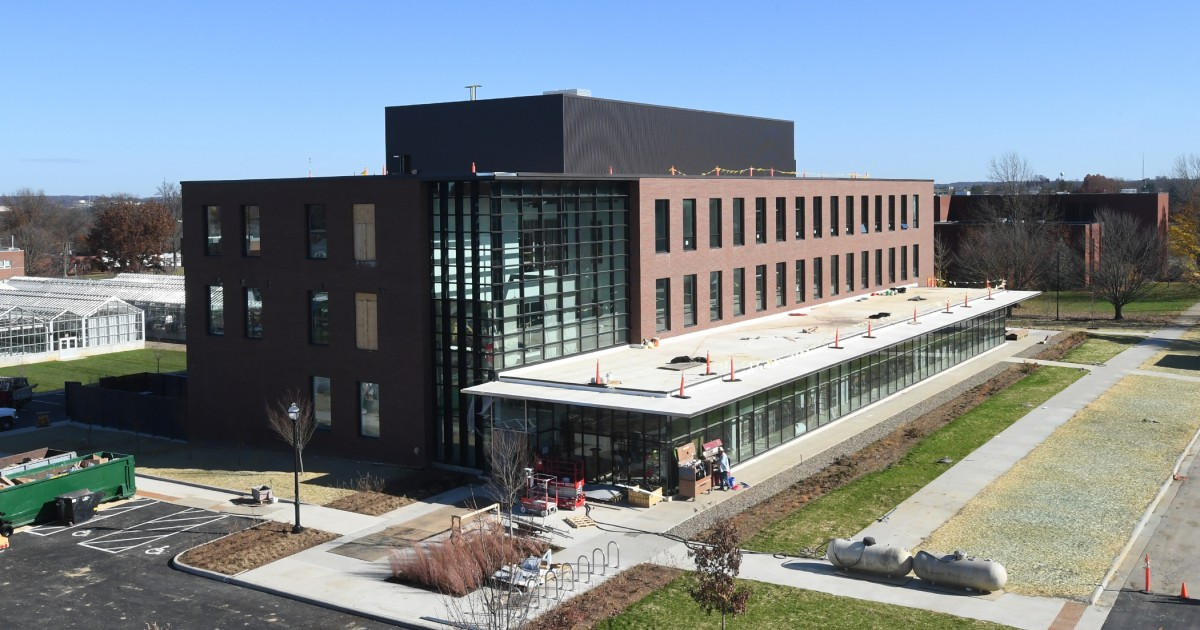 Science building external view front