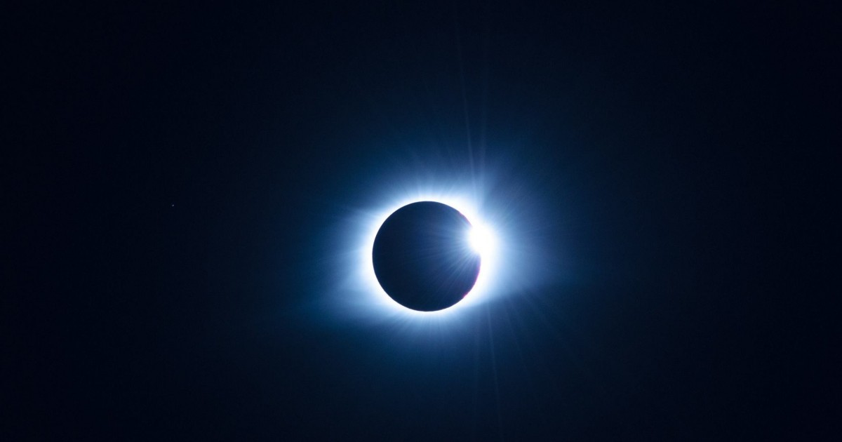 A picture of the August eclipse