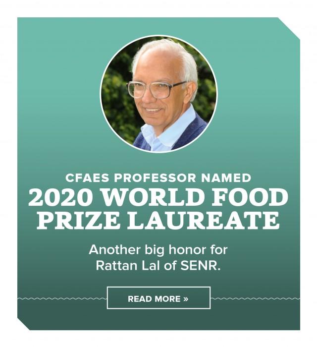 Soil scientist awarded World Food Prize