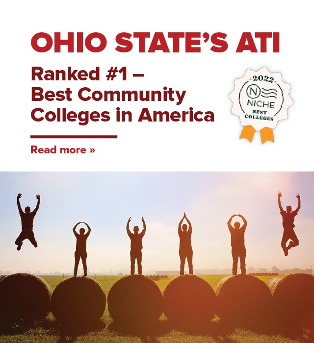 Ohio State's ATI ranked #1 Best Community Colleges in America