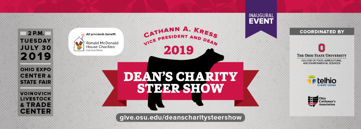 Dean's Charity Steer Show