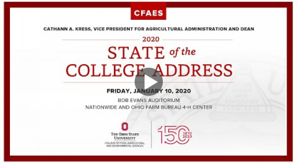 2020 State of the College address