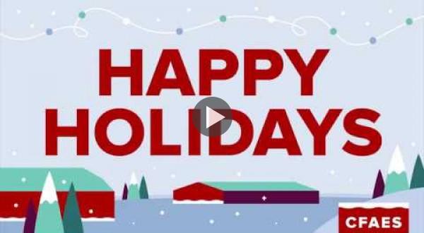 CFAES 2017 Happy Holidays