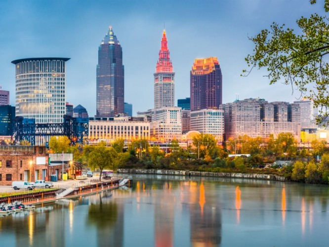 Cleveland's skyline (Photo: Getty images)