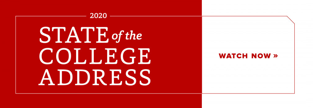 Watch the State of the College Address