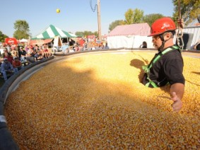Live demonstrations on grain safety awareness will take place at 10 a.m., 11 a.m. and noon at The Farm Science Review Sept. 19-21. Photo: Flickr.