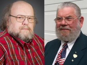 Stan Ernst (left) and Louis McFarland (right) will be inducted into the 28th class of honorees for the Farm Science Review's Hall of Fame.