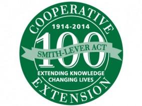 Extension centennial logo