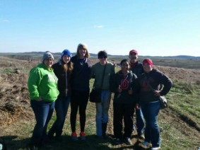 Member of the Shades of Animal Sciences club at The Wilds in November.