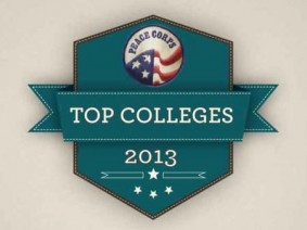 Peace Corps Top Colleges logo