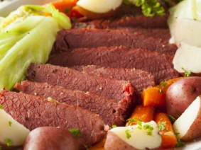 Corned beef. Photo: Thinkstock
