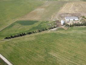 View of a farm taken from an Unmanned Aerial Vehicle. (Photo: Thinkstock)