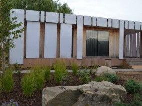 Attendees to the 2017 Green Home Workshop will be able to tour The Ohio State University's enCORE house, a solar house deisgned and built by students and includes systems to collect rainwater and reuse some household wastewater.