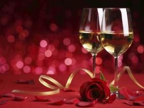 Ice wine for Valentine's Day