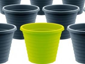 Plastic pot recycling