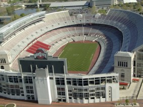 image of empty Ohio Stadium