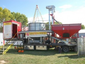 The Community Agricultural Rescue Trailer (CART) will be used for rescue simulations on Aug. 29 in Madison County.