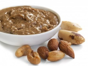 nut butter and nuts