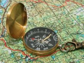 compass, map