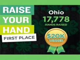 Ohio 4-H wins $20,000 prize for second straight year.