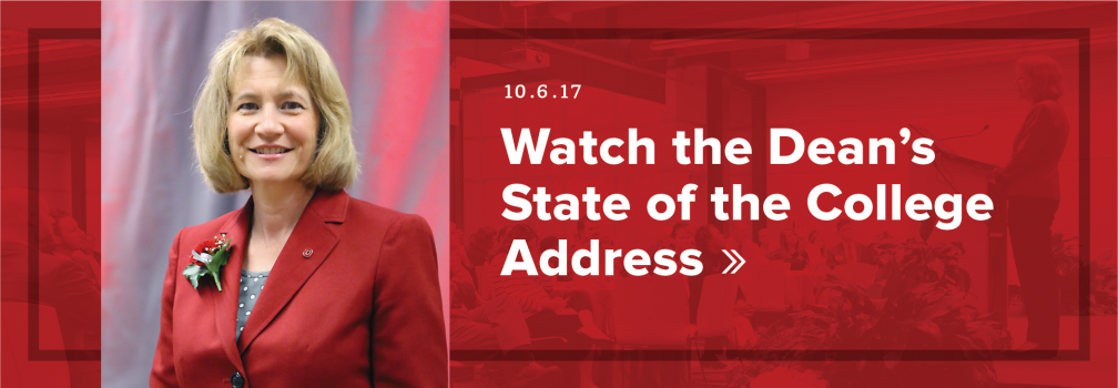 Watch the Dean's State of the College Address