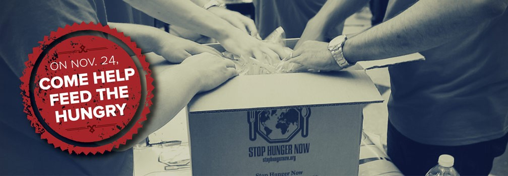 Information on Stop Hunger Now Campaign