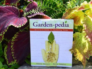 image of Garden-pedia among plants