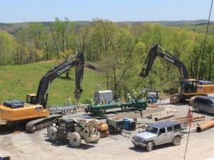 shale operation in eastern Ohio