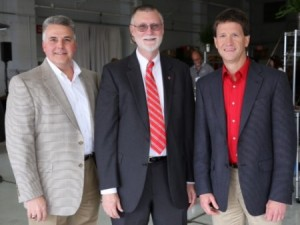 Bruce Kettler, Bruce McPheron, and Scott Beck