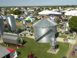 Aerial photo of Farm Science Review. Photo: CFAES