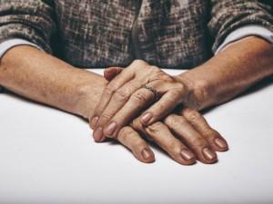 iStock image of elderly women's hands