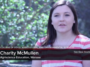 Charity McMullen traveled to Honduras this May to help vocational schools improve their agriculture curricula.