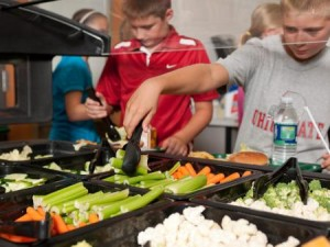 Students access healthy foods at school thanks to Farm to School program