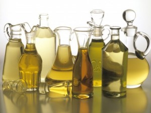 bottles of different types of oils