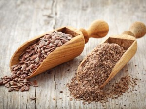 flax seed and ground flax seed