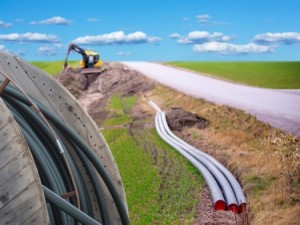 Digging for broadband. Photo: Thinkstock