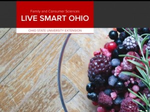 front page of live smart ohio website
