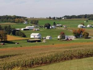 Ohio farm scene