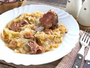 Lucky or not, pork and sauerkraut go well together in Ohio agriculture. (ThinkStock photo)