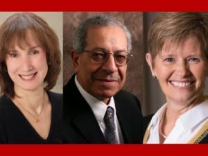 Photo of Linda Lobao, Ahmed E. Yousef, and M. Susie Whittington