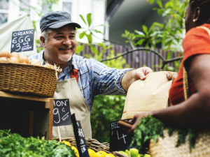 Local food production has gained in popularity in part because consumers have lost some trust in larger food companies.