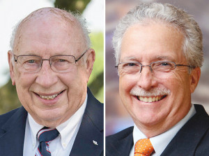 Jerry Ardrey  (left) and Clayton W. Rose III (right) will be inducted into the 29th class of honorees for the Farm Science Review's Hall of Fame.