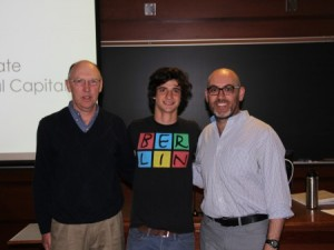 Photo of Tal Shutkin, middle, with nominators