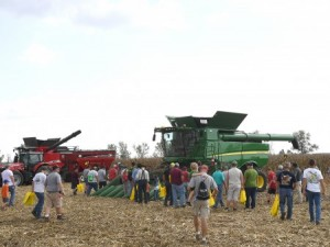 The 55th annual Farm Science Review attracted a record number of exhibitors and a crowd of 113,836 during the three-day farm show. (Photo: Ken Chamberlain, CFAES)