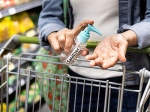 The CDC says wash and sanitize your hands after grocery shopping. It's important that you wash your hands with soap for at least 20 seconds each time. Hand sanitizer is also an option if you do not have access to soap and water. Photo: Getty Images