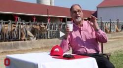 The Most Interesting Professor in the World Drinks Milk