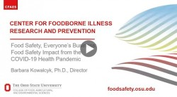 The food safety impacts of COVID-19