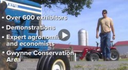 Why do farmers come to Farm Science Review