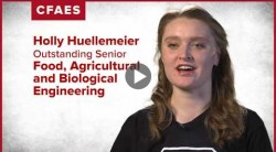 Holly Huellemeier: My major is Food, Agricultural and Biological Engineering.