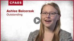 Ashlee Balcerzak: My major is Environmental Science.